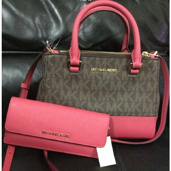 34d5c87624c7 Michael Kors Bags | New 460 Set Walletbag 2018 Authenti | Poshmark